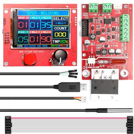 Controlador neumatico de la maquina de soldadura por puntos NY-D08, con sensor de temperatura