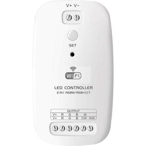 Controlador Open RGBW/RGB+CCT, WiFi / Bluetooth APP, Alexa Voice Control