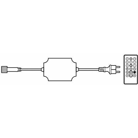 Controlador RGB 184W para guirnalda String Plus 100