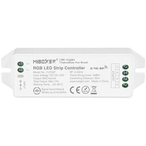 Controlador RGB - RF 4 zonas 12A