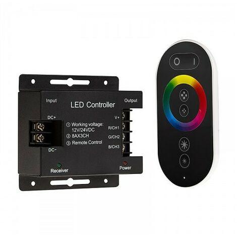 Controlador Táctil RGB con dimmer