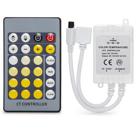 Controlador Tira LED Cct Variable Mando a Distancia (CA-CONT-CWWW)