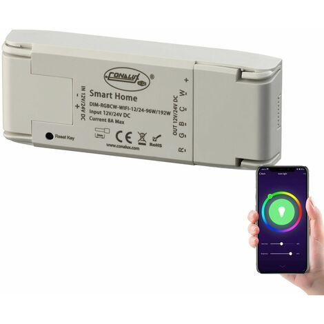 Controlador tiras de led por wifi