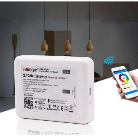 Controlador Wifi para bombillas Mi Light 2.4GHz