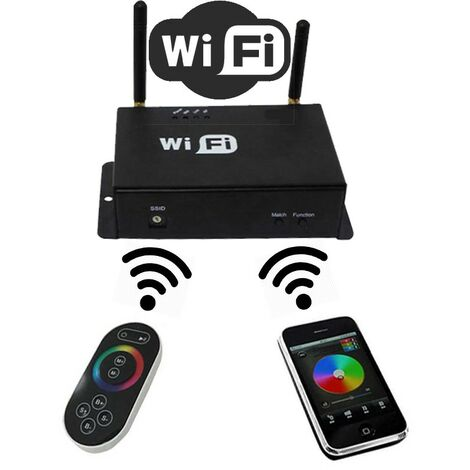 Controlador wifi RGB para Iphone o Ipad