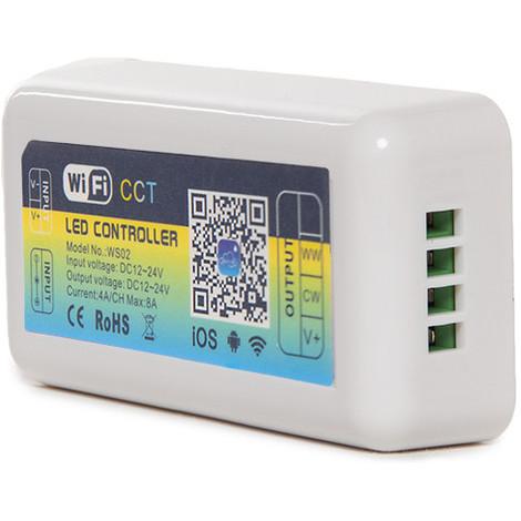 Controlador Wifi Tira LED Cct Variable Compatible Alexa (CA-WS02)