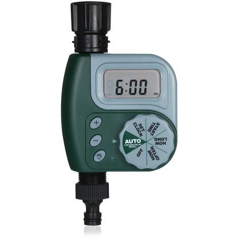 Controleur Automatique D'Irrigation De Minuterie D'Arrosage De Jardin, Vert