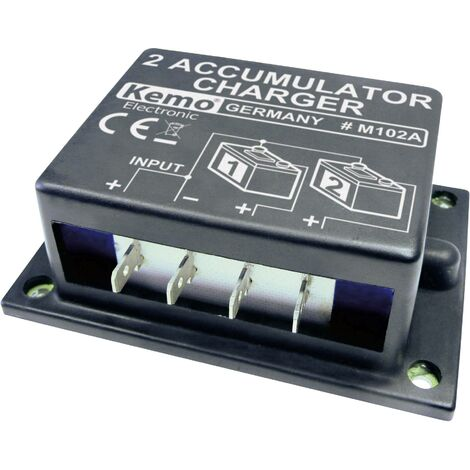 Contrôleur de batterie (kit monté) Kemo M102A 24 V/DC 1 pc(s) Q09832