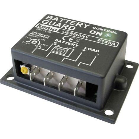 Contrôleur de batterie (kit monté) Kemo M148A 12 V/DC 1 pc(s)