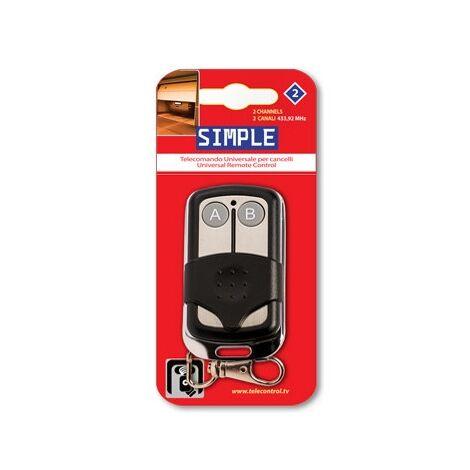 Contrôleur de garage 433,92mhz 2 boutons simples2 Superior Sup000