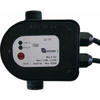 """Controleur de pression/débit électroniq ZD 15 230V - 1"""" fil male"""