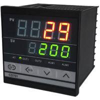 Controleur De Temperature A Double Affichage Pid, Avec Alarme, Sortie A Relais Cd701