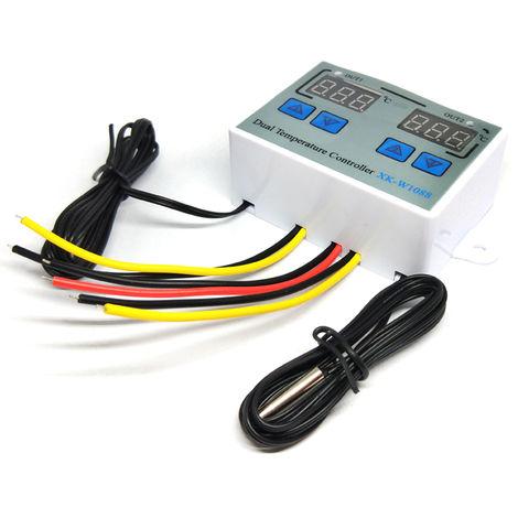 Controleur De Temperature A Double Thermostat, Ac110-220V