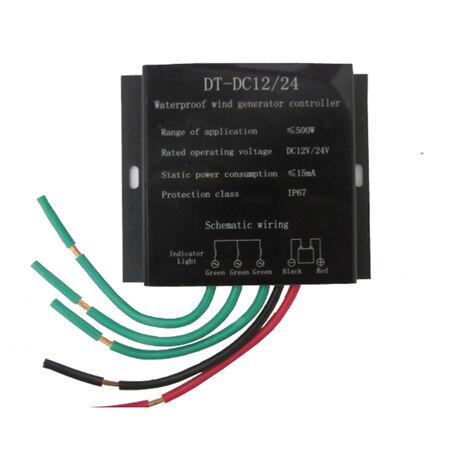 Controleur d'eolienne a commutation automatique 500W 12v / 24v