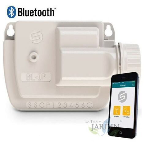 Contrôleur d'irrigation à batterie Bluetooth BL-IP1 Solem, 1 station d'irrigation