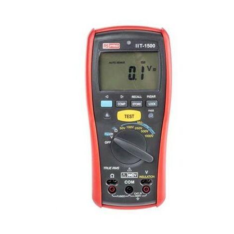 Contrôleur d'isolement IIT1500 - 50 à 1000V - 20GΩ