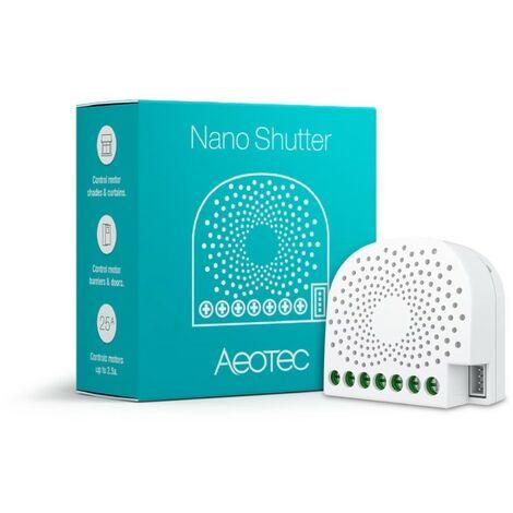 Contrôleur encastrable Z-Wave pour motorisations - Nano Shutter Aeotec