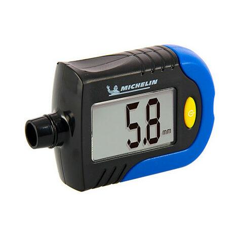 Contrôleur pression digital - 0,35 à 7 bars + usure pneus en mm - Michelin