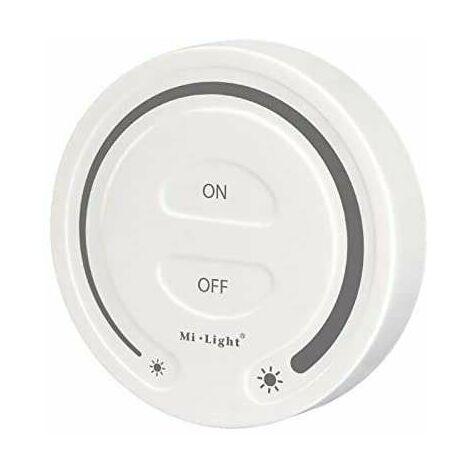 """main image of """"Contrôleur Wifi variateur sans fil tactile rond blanc Mi-Light 087"""""""