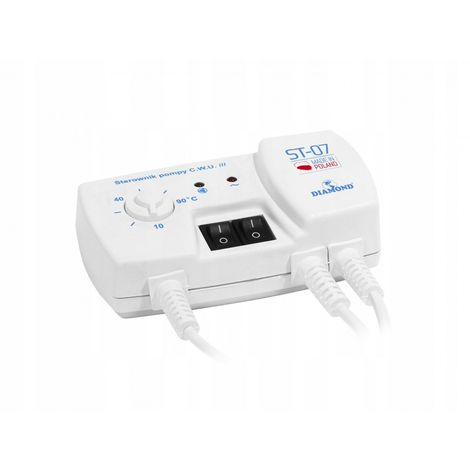 Controller. DHW pump controller. Central heating New
