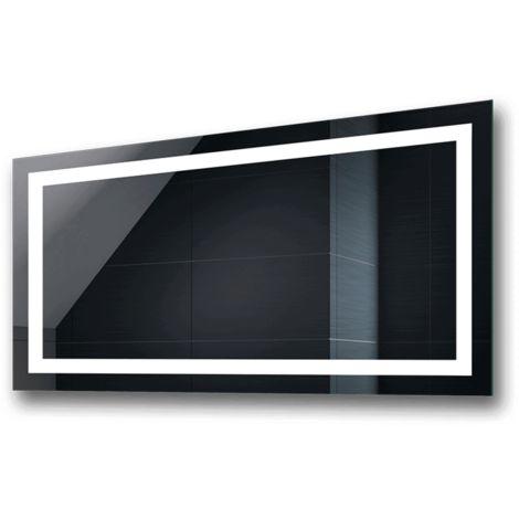 Specchio Bagno Led 100.Controluce Led Specchio Bagno Led015 100x40cm Bianco Freddo 7000 K