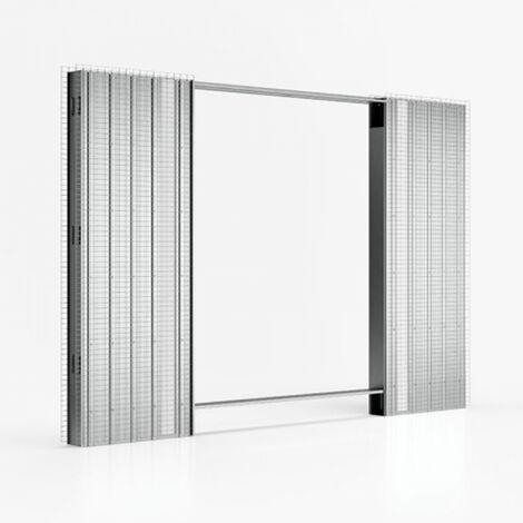 Controtelaio per porte scorrevoli anta doppia spessore for Porte scorrevoli doortech