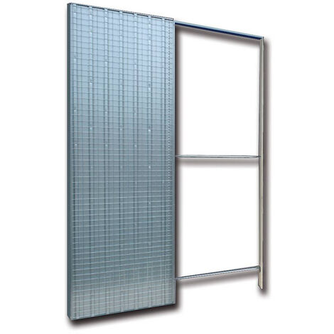 Controtelaio per porte scorrevoli anta unica intonaco 105mm Doortech by  Scrigno