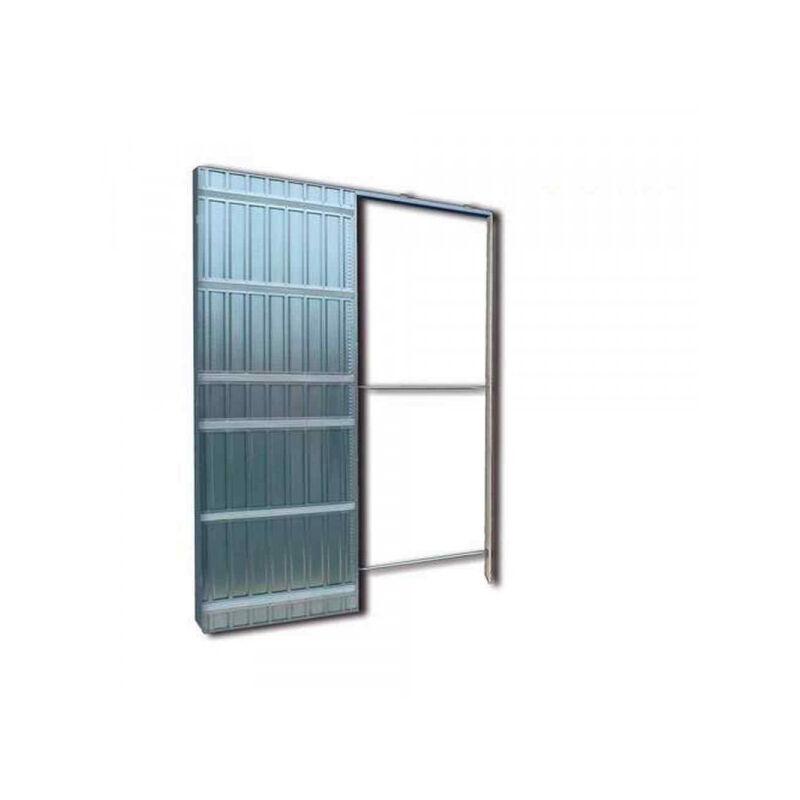 Controtelaio per porte scorrevoli anta unica spessore muro for Porte scorrevoli doortech