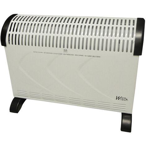 Convecteur 2000W avec thermostat - Warm Tech