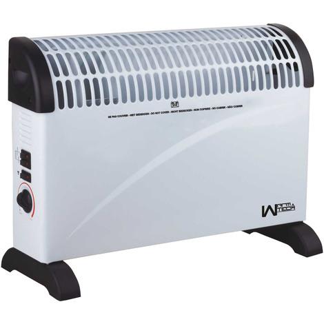 Convecteur 2000W + Ventilation turbo - Warm Tech