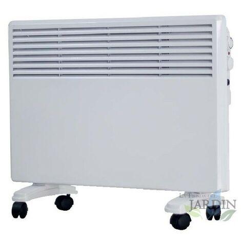Convecteur de chauffage blanc réglable 750W-1500W