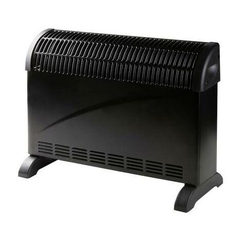 Convecteur DOMO DO7350CH 750 W, 1250 W, 2000 W noir 1 pc(s)