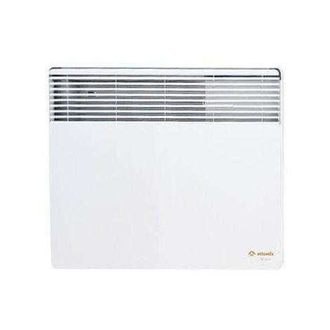 Convecteur electrique 500W blanc horizontal 350X450X78mm thermostat 4 ordres F117T ATLANTIC 514105