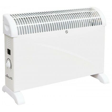 Convecteur électrique Niklas Classic 2000W 3 puissances de chauffes