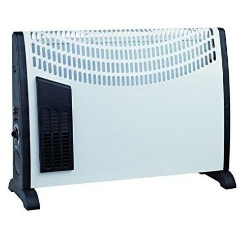 Convecteur Global Power   Puissance 750/1250 / 2000W. Reglable Termoestato. Ventilateur integre