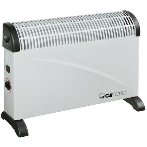 Convecteur radiateur mobile appareil de chauffage dispositif Clatronic KH 3077