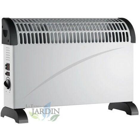 Convector calefactor 750W-1250W-2000W con turbo ventilador