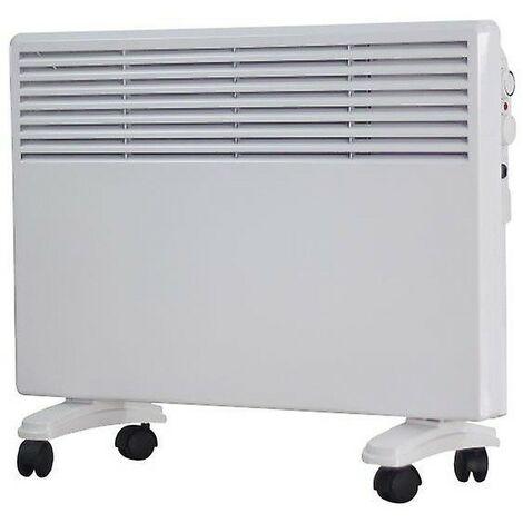 Convector Calor CM5 | Potencia 750/1500W. Termostato ajustable. Temporizador 24h | Calefactor alto rendimiento