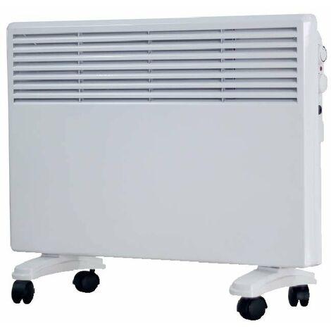 Convector Color Blanco Para montaje A Pared O Suelo 750/1500W