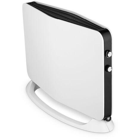 Convector electrónico 2000W con pantalla LCD en color negro/gris