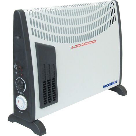 Convector Heater With Timer & 3 Heat Settings