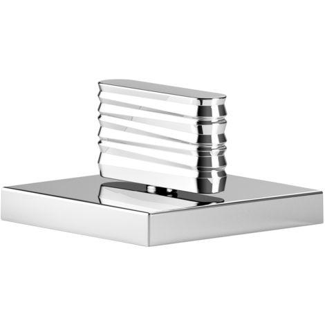 Conversión bidireccional de Donbracht CL.1 para el montaje en el borde de la bañera con estructura Diseño 1, color: cromado - 29127705-00