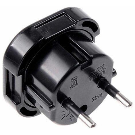 Conversor/Adaptador/Convertidor de enchufe de 3 pins UK-Ingles a enchufe Europeo
