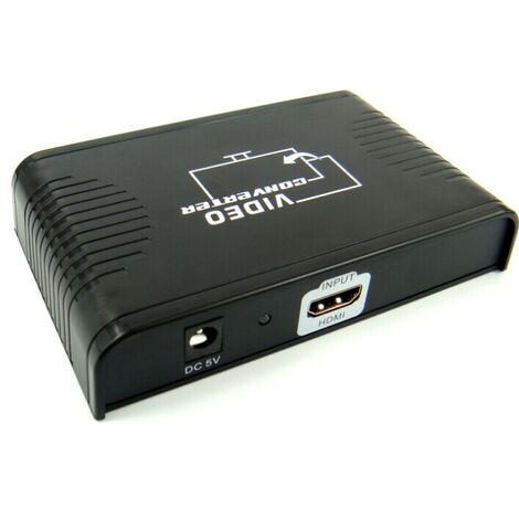 Conversor de HDMI a euroconector , HDMI a Scart Yatek YK-702