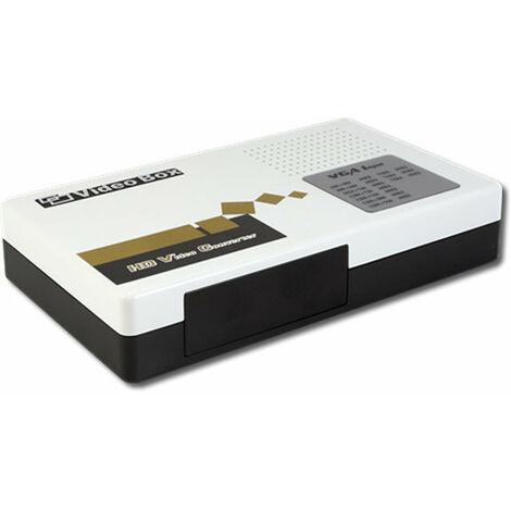 Convertidor / adaptador Componentes YPbPr + VGA + Audio a HDMI Lenkeng LKV351