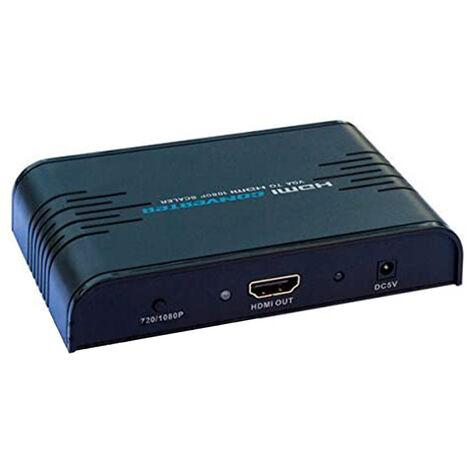 Convertidor / adaptador VGA + audio a HDMI hasta 1080p Lenkeng LKV352A