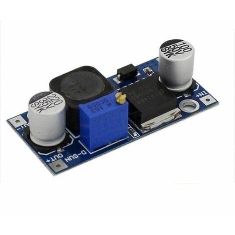 Convertidor DC-DC, Alimentador Regulable LM2596 - Electronica, Arduino, Fuente.