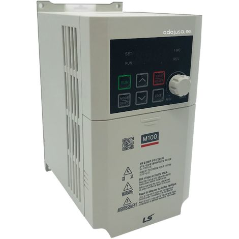 Convertidor de frecuencia monofásico 0,75Kw serie M100 - LSis