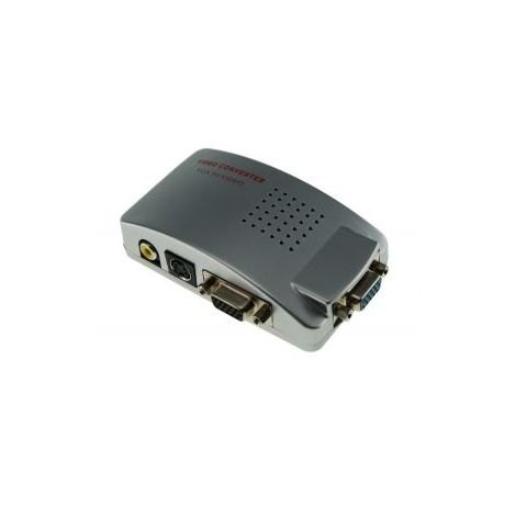 Convertidor señal VGA a RCA Video y S-video