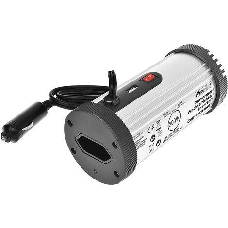 Convertisseur 12V-230V 200W + USB